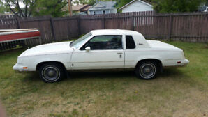 For Sale: 1986 Oldsmobile Cutlass Supreme Brougham.