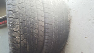 Sumer tire only 2 piece