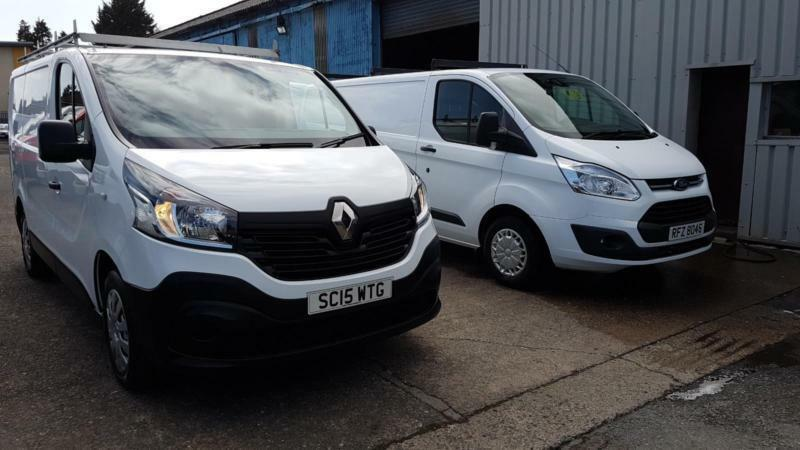 8521143a75 2015 Renault Trafic SL27 Business DCI SWB Van