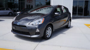 2013 Toyota Prius Prius C Technology Package MODED