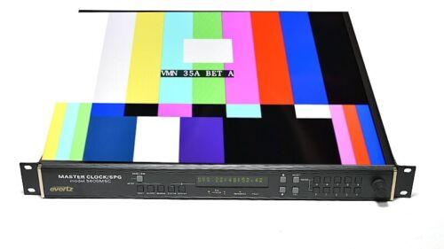 Evertz 5600MSC Master Clock SPG Test Generator 2PS-STG-HTG-GPS-WC-T-LTC