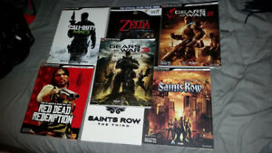 Game guides for sale