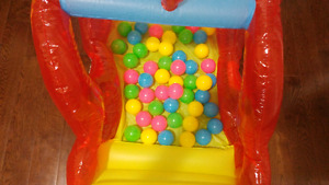 Helicopter ballpit