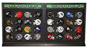 NFL Football Helmet Match-Up Display - Sports Gift