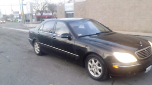 Mercedes S500 Long wheel based runs and drives perfect