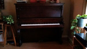 Upright piano For Sale .
