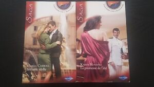 Harlequin collection Saga, 2$/livre