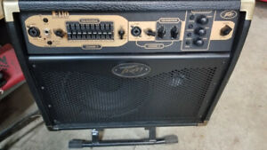 Peavey E110 Acoustic AMP with Foot Switch