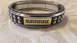VERSACE Stainless Steel Bracelet for Men-in the Best Condition