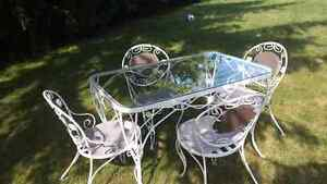 Wrought Iron Patio Set London Ontario image 1