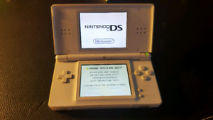 Nintendo DS Lite with nine  Games accesories