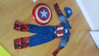 Costume captain America pour halloween  5 -6ans