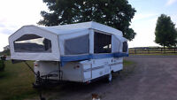 Reduced price, Rockwood Forest River Tent Trailer 2005