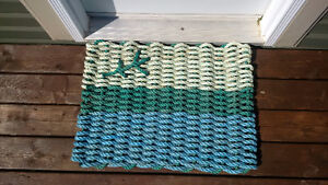 Labrador Flag - Recycled Rope Mat