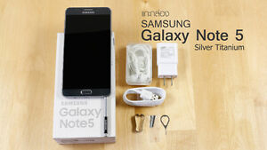 Authentic Samsung Galazy Note 5 -64G- New and sealed (Rogers)