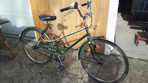 3 speed vintage ccm bicycle