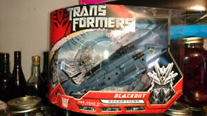 Transformers 2007 Voyager Class Movie blackout