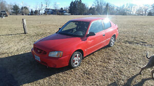 2001 Hyundai Accent Hatchback