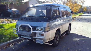 92 Mitsubishi Delica Diesel Van 4x4 T.D. new price MUST SELL
