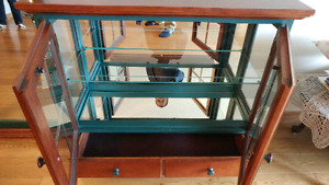 Cabinet with Glass Mirror