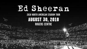 2 Ed Sheeran August 30th