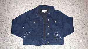 Blue jean jacket size med Cambridge Kitchener Area image 1