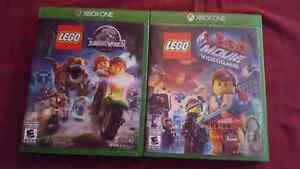 Lego Jurassic Park et Lego Movie