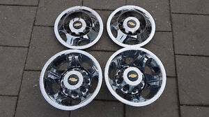 "!! CHEV DUALLY 17 "" FACTORY TRIM RINGS & CENTER CAPS $675.00 !!"