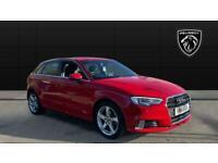 2018 Audi A3 30 TFSI 116 Sport 5dr Petrol Hatchback Hatchback Petrol Manual