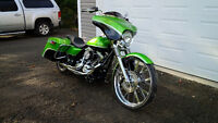 2011 Harley Davidson Road King touring 26 inch wheel