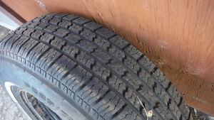 225 x75 xr15 tire and rim .......