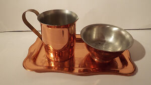3 PIECES OF COPPERCRAFT GUILD