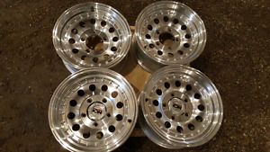 "Never driven 16"" Alloy Ion rims"