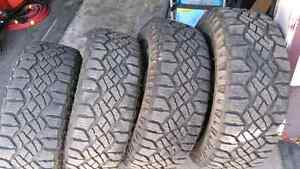 "Ford F150 FX4 OEM 20"" wheels with tires & senors"