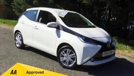 2016 Toyota Aygo 1.0 VVT-i X-Pression x-shift w Automatic Petrol Hatchback