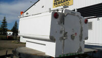 PRE-OWNED 8' ALUMINUM NORTRUCK WORK CANOPY/TOOLSHED
