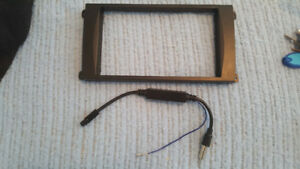 Porsche Aftermarket Stereo Trim Bezel for Doule Din Stereo $60