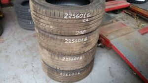 Set of 4 Michelin Premier AS 225/60R16 tires (65% tread life)
