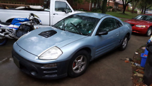 2003 eclipse limited edition  safetied and etested