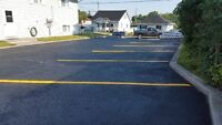 ASPHALT LINE PAINTING. MARKING. SEALING & REPAIRS