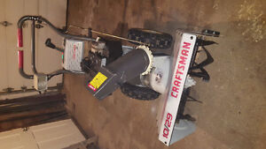 NEW PRICE!!! $650 obo Craftsman 10/29 snowblower