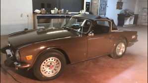One Of A Kind Triumph TR6 For Sale