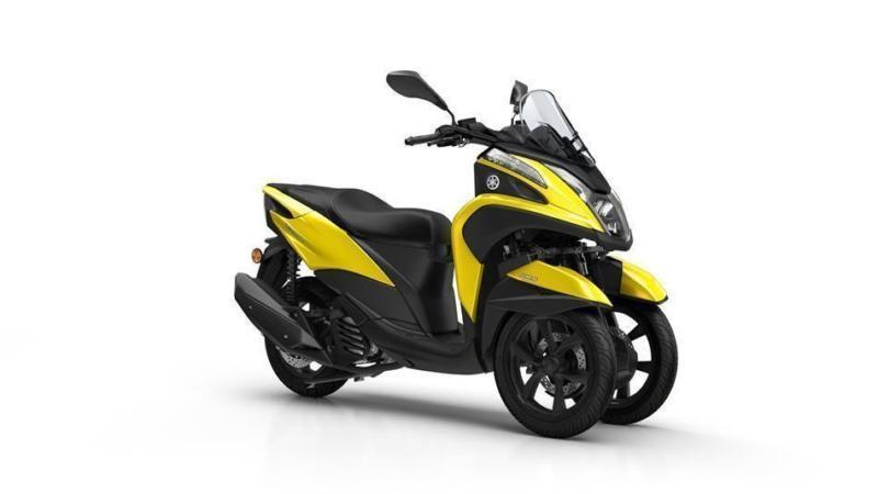2017 YAMAHA TRICITY 125 ABS SUNNY YELLOW, *LOW RATE FINANCE AVAILABLE*