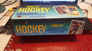 1990-91 O-Pee-Chee OPC Hockey Set (528) PLUS Central Red Army Se