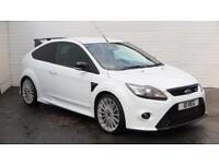 2010 Ford Focus 2010 Ford Focus RS 2.5 Litre 305 BHP Petrol white Manual