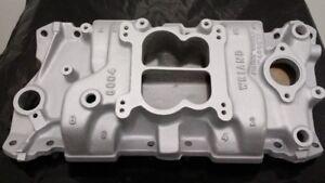 Chevy SBC Weiand Action+Plus 8004 Aluminum Intake Manifold