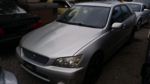2001 Lexus IS300 with new transmission