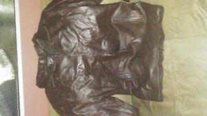 2x mens leather jacket