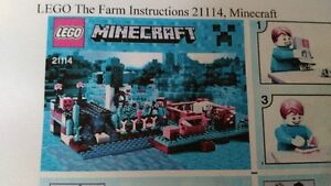 Lego Minecraft THE FARM 21114 (complet)