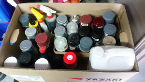 Paint spray cans and more